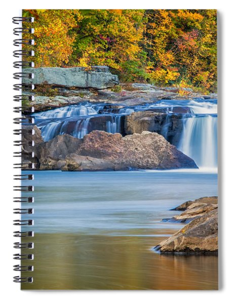 Lower Ohiopyle Falls Spiral Notebook