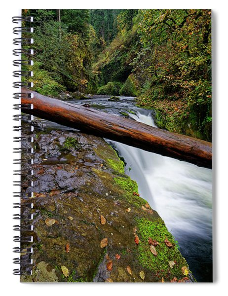 Lower Punch Bowl Falls Spiral Notebook