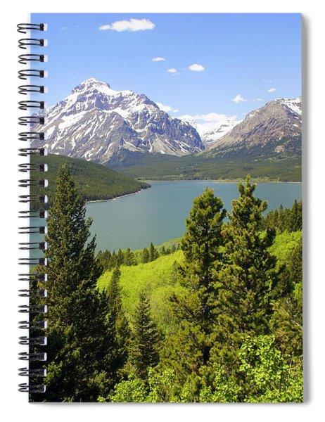 Lower Two Medicine Lake Spiral Notebook