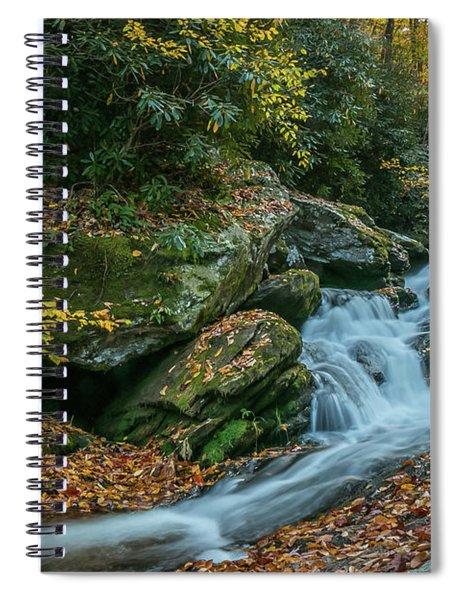 Lower Upper Creek Falls Spiral Notebook