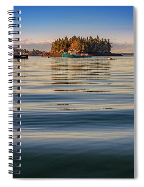 Lubec Harbor Spiral Notebook
