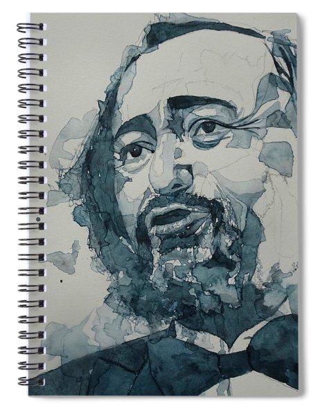 Luciano Pavarotti  Spiral Notebook