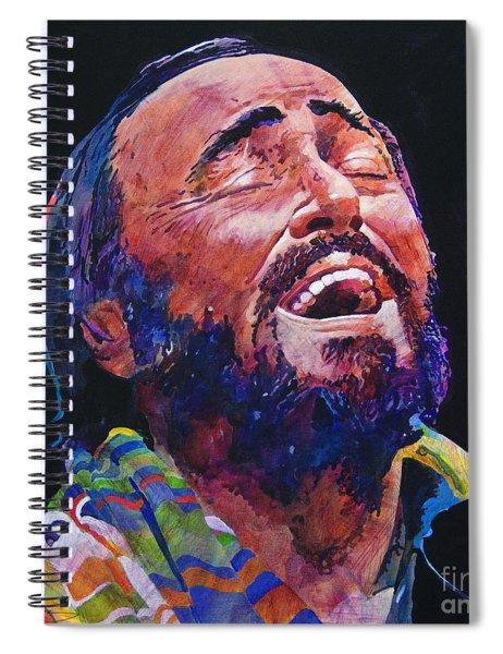 Luciano Pavrotti Spiral Notebook