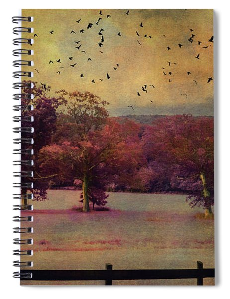 Lucid Ehereal Dream Spiral Notebook