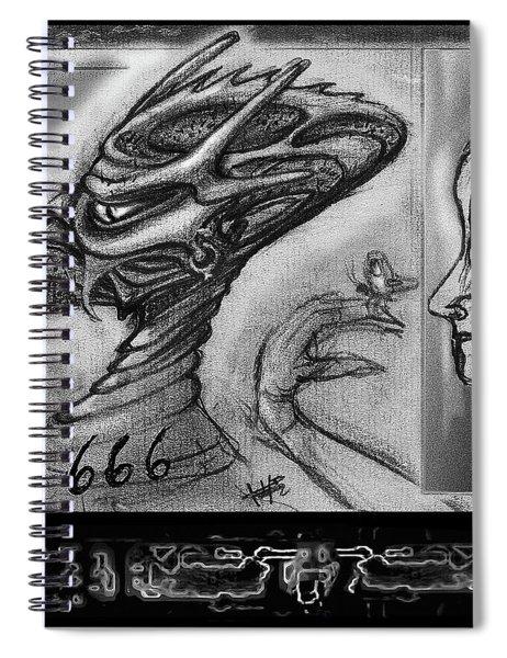 Lucifer  Sketch  Spiral Notebook