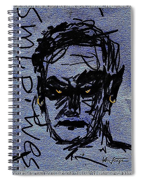 Lucifer's  Thoughts Spiral Notebook