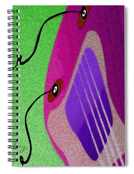Lucille Spiral Notebook