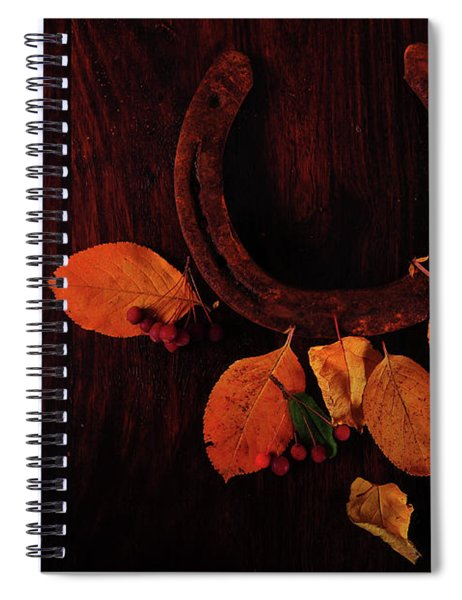 Luck And Happiness Spiral Notebook
