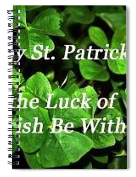 Luck Of The Irsh Spiral Notebook