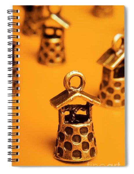 Lucky Charm Wells Spiral Notebook