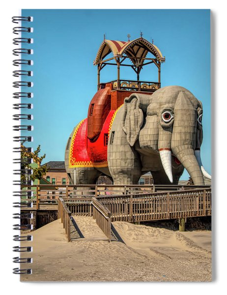 Lucy On The Beach Spiral Notebook