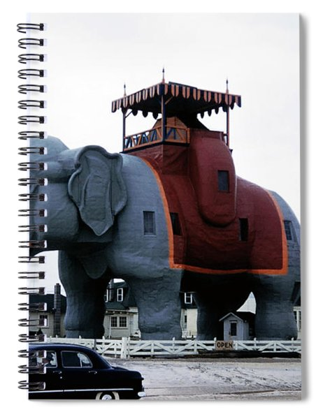 Lucy The Elephant 2 Spiral Notebook