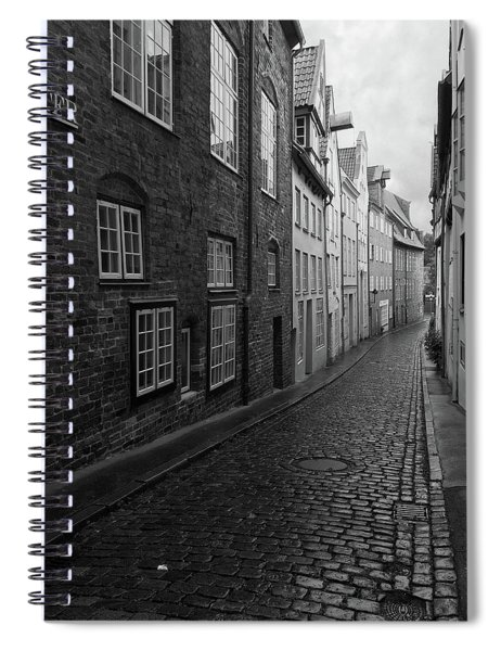 Luebeck Rainy Summer Spiral Notebook