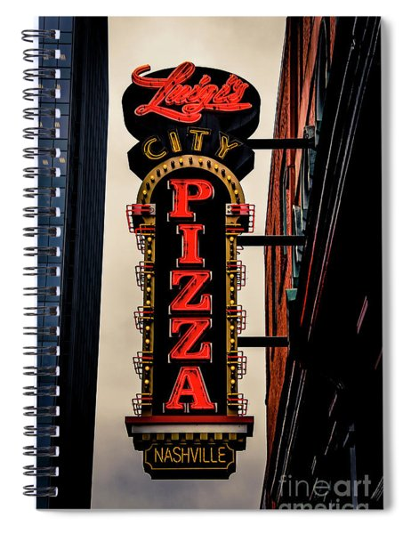 Luigi's City Pizza Nashville Spiral Notebook