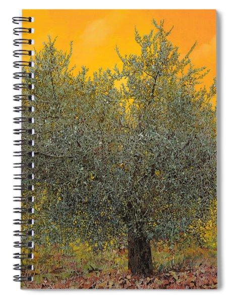 L'ulivo Tra Le Vigne Spiral Notebook