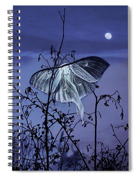 Luna Nights Spiral Notebook