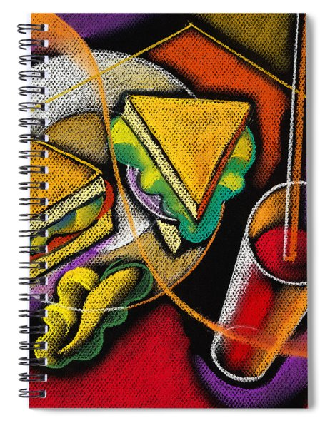 Lunch Spiral Notebook