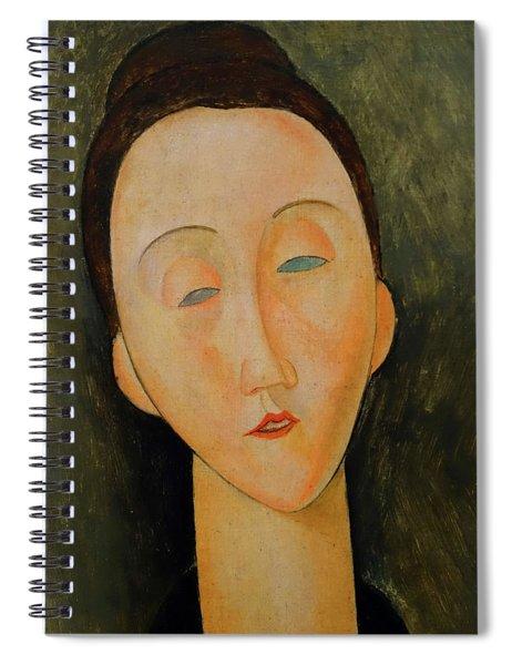 Lunia Czechwska Amedeo Modigliani 1918 Spiral Notebook by Movie Poster Prints