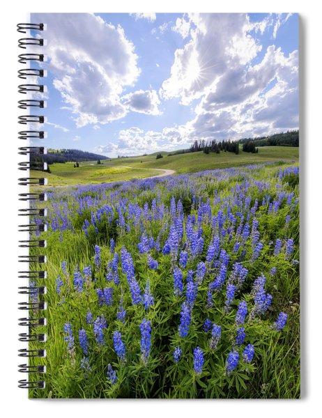 Lupine Pass Spiral Notebook
