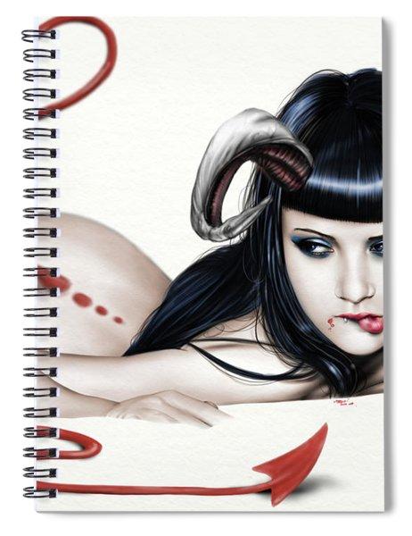 Lure Of La'mia Spiral Notebook