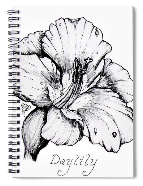 Luscious Daylily  Spiral Notebook