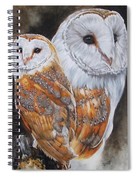 Luster Spiral Notebook