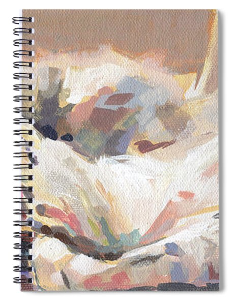 Lying In Wait Spiral Notebook