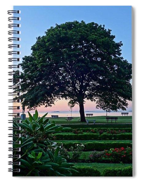 Lynch Park At Dawn Beverly Ma Spiral Notebook