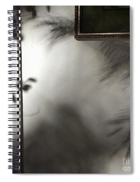 Lysiloma Shadows Spiral Notebook