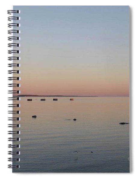 M Landscapes Collection No. L2224 Spiral Notebook