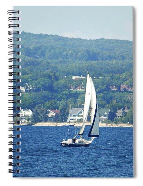 M Landscapes Collection No. L228 Spiral Notebook