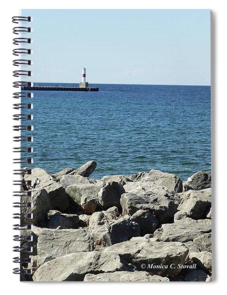 M Landscapes Collection No. L229 Spiral Notebook