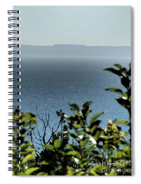 M Landscapes Collection No. L238 Spiral Notebook