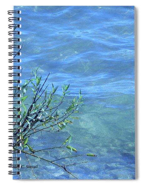 M Landscapes Collection No. L239 Spiral Notebook