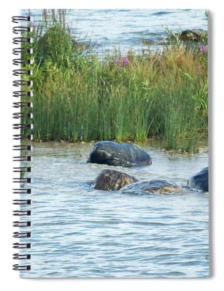 M Landscapes Collection No. L242 Spiral Notebook