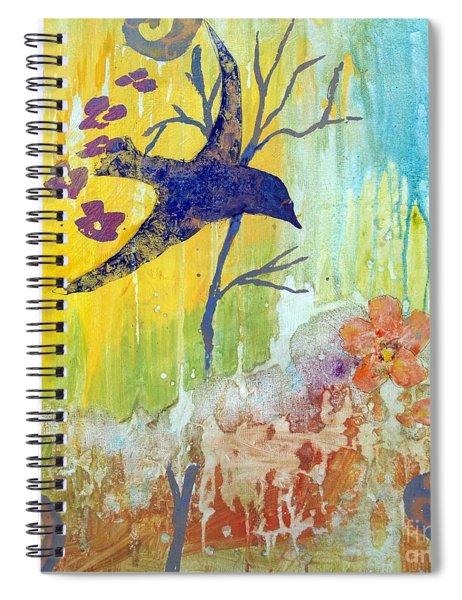 Ma Doh Bird Soars Spiral Notebook