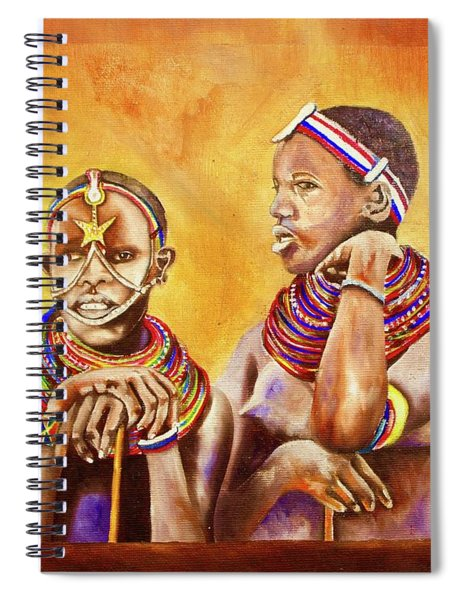Maasai Legends Spiral Notebook