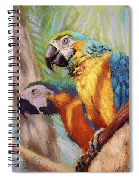 Macaws In The Sunshine Spiral Notebook