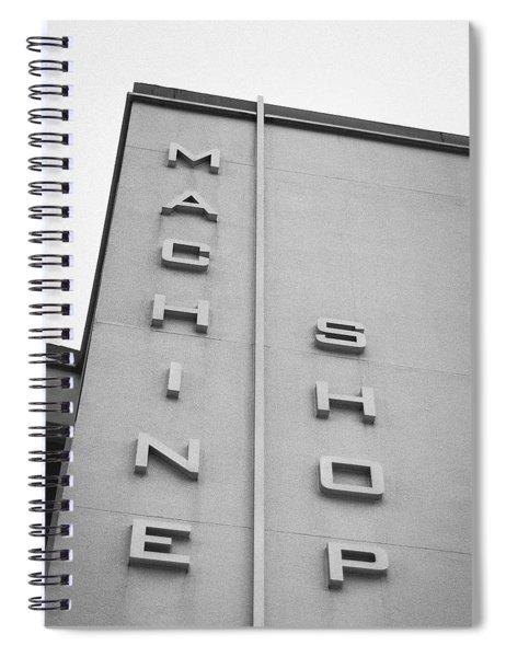 Machine Shop Spiral Notebook