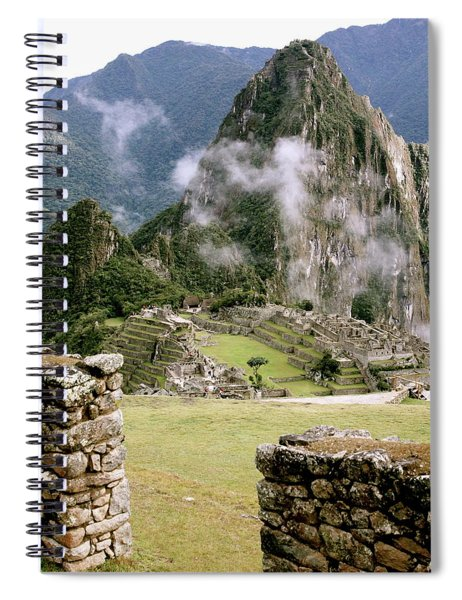 Machu Picchu In The Morning Light Spiral Notebook