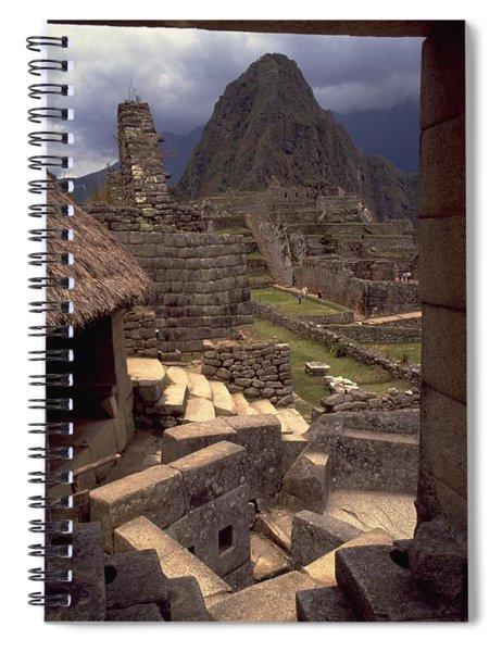 Machu Picchu Spiral Notebook