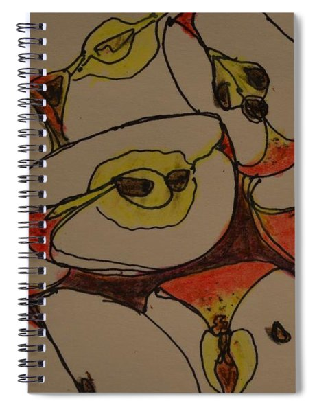 Macintosh Apples Spiral Notebook