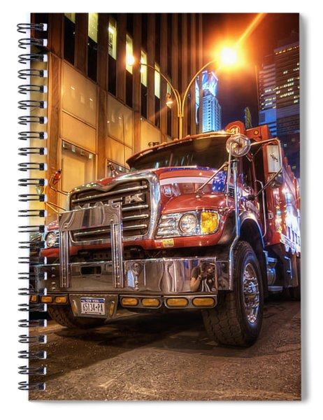 Mack Truck Nyc Spiral Notebook