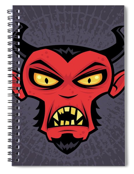 Mad Devil Spiral Notebook