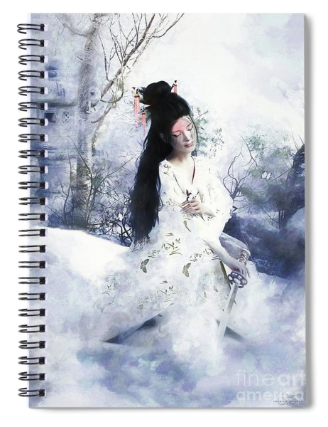 Madam Butterfly  To Die With Honour Spiral Notebook