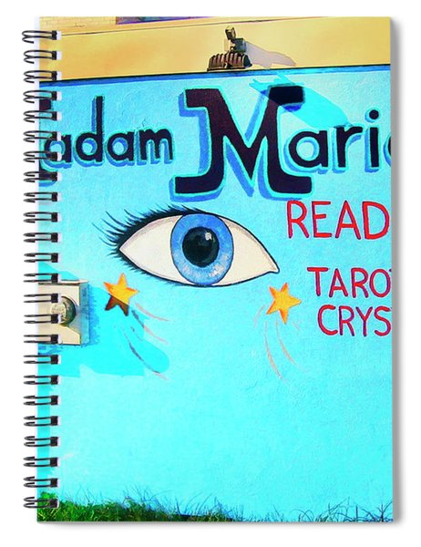 Madame Marie Spiral Notebook