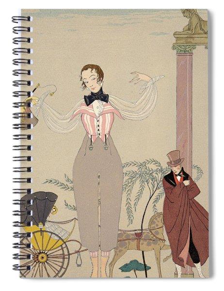 Mademoiselle De Maupin Spiral Notebook
