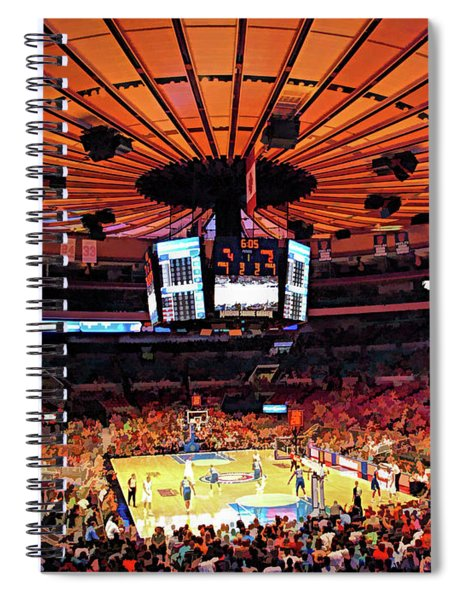 Madison Square Garden Spiral Notebook