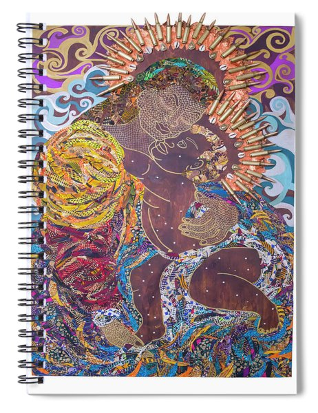 Madonna And Child The Sacred And Profane Spiral Notebook