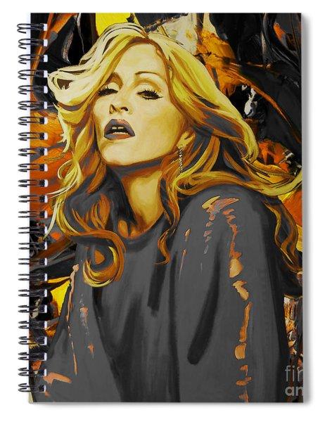 Madonna The Singer  Spiral Notebook